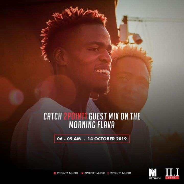 2point1 Morning Flava Metro FM Mix 14-10-2019