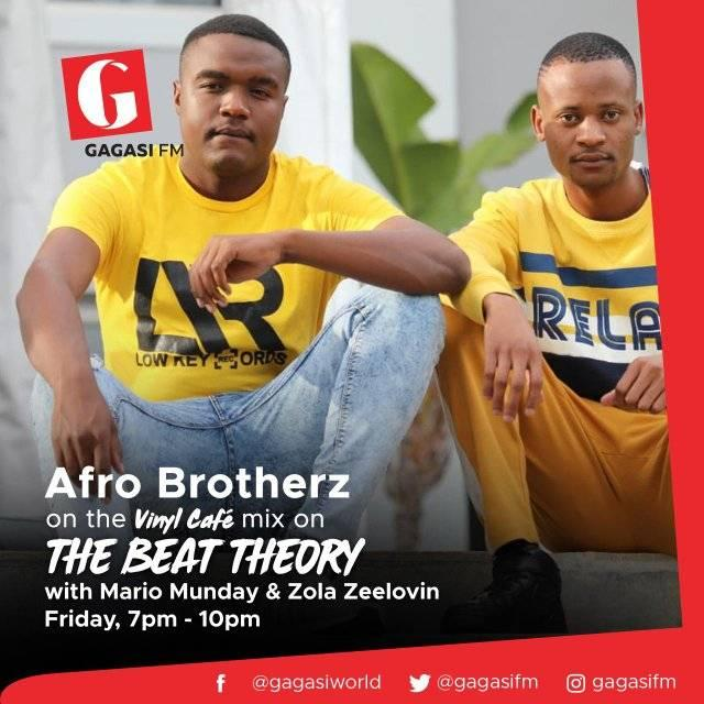 Afro Brotherz Vinyl Cafe Mix (Gagasi FM)