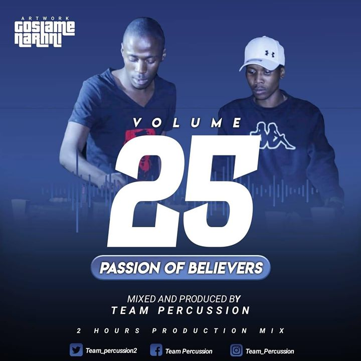 Team Percussion Passion Of Believers Vol 25