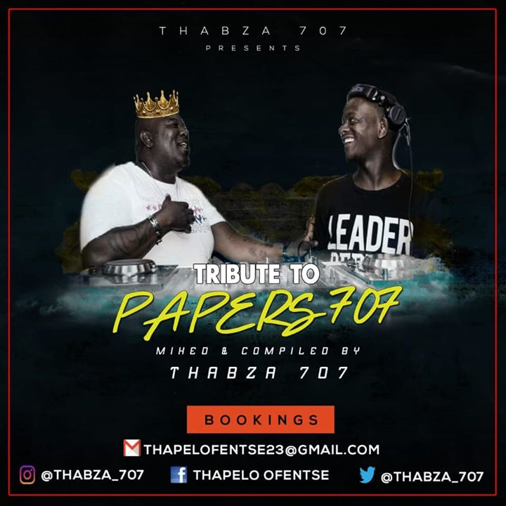 Thabza 707  Tribute Mix To Papers 707