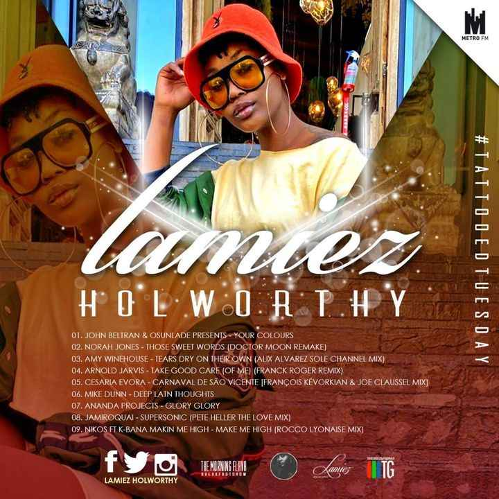 Lamiez Holworthy TattoedTuesday 58 (The Morning Flava Mix)