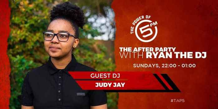 Judy Jay - The after Party With Ryan The Dj (5FM Mix)