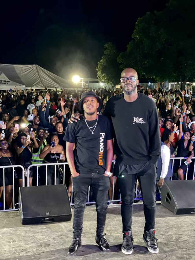 Black Coffee Happy To Meet Kabza De Small For The First Time, Calls Him King