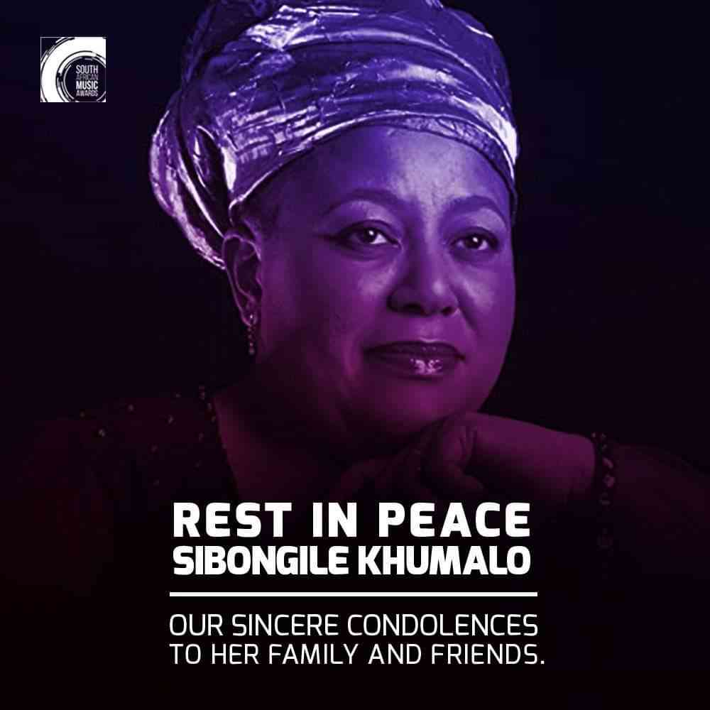 Sibongile Khumalo Is Dead