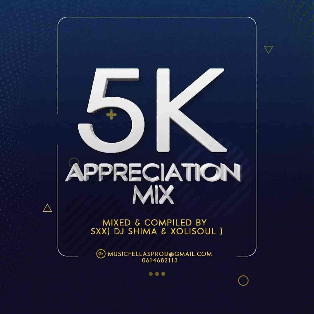 DJ Shima & Xolisoul 5k Appreciation Mix